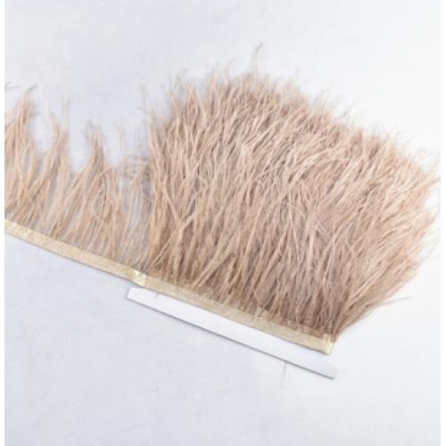 Тесьма из перьев ,цвет №25, цена за 10 см