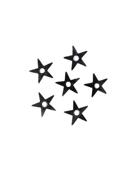 Пайетки 'звездочки,серебро,7 мм, А053-1