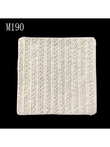 Силиконовый текстурный коврик для глины-М190