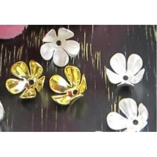 Шапочки для бусин,цв-золото.8мм,цена  за 1 шт