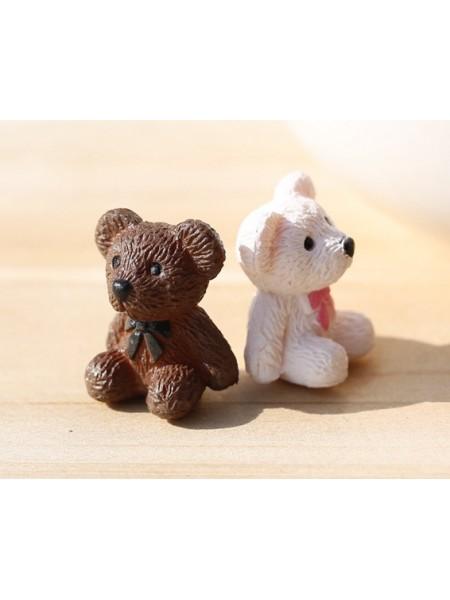 Миниатюра-Мишка-коричневый , цена за 1 шт
