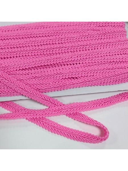 Тесьма Булет,цв-ярко-розовый. шир 11 мм,цена за 1 м