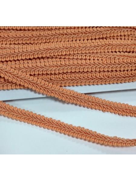 Тесьма Булет,цв-оранжевый. шир 11 мм,цена за 1 м