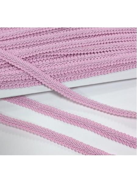 Тесьма Булет,цв-розовый. шир 11 мм,цена за 1 м
