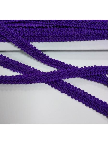 Тесьма Булет,цв-фиолетовый. шир 11 мм,цена за 1 м