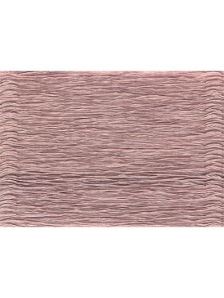 Бумага гофрированная-CARTOTECNICA ROSSI, цв серо-розовый  №17Е-1