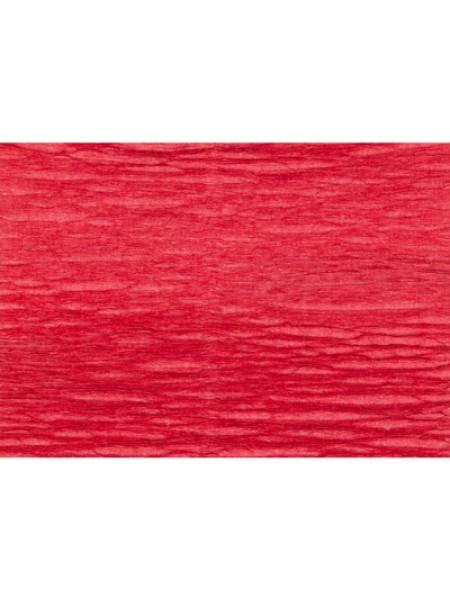 Бумага гофрированная-CARTOTECNICA ROSSI, цв красный  №17А-6
