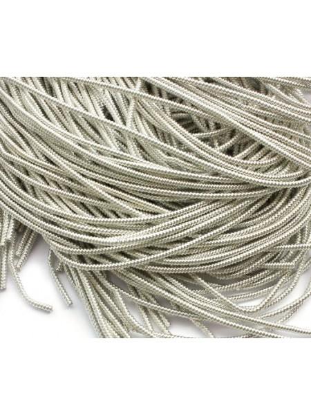 Канитель фигурная,цвет серебро,1,5 мм- 5 гр,№059