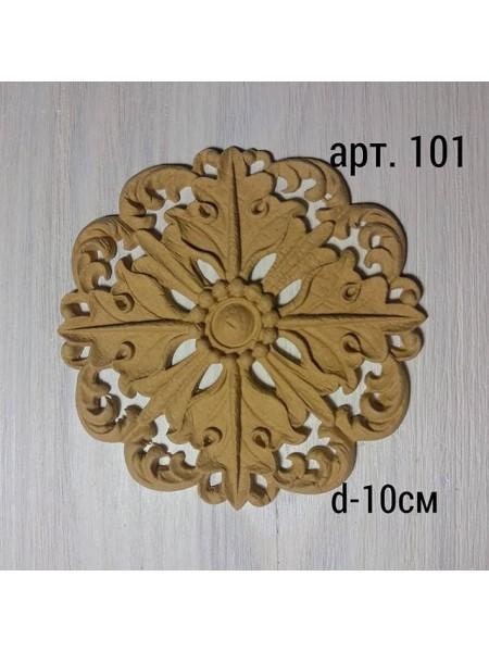 Декор из древесной пульпы-№101, 10см