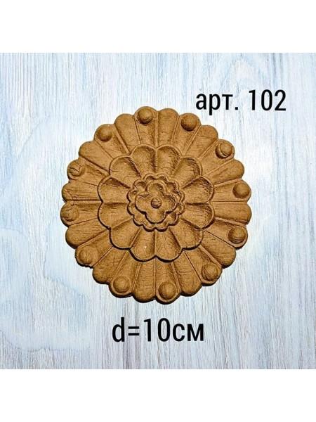 Декор из древесной пульпы-№102, 10см