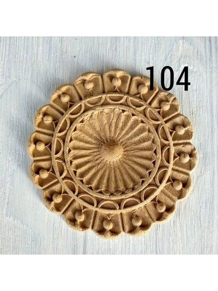 Декор из древесной пульпы-№104, 10см
