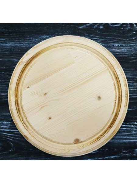 Доска сырная панно ,сосна, 24,5см