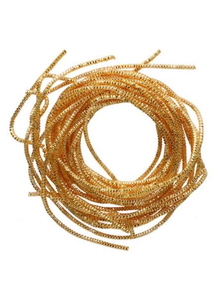 Трунцал,цвет желтое золото,1,5 мм- 5 гр