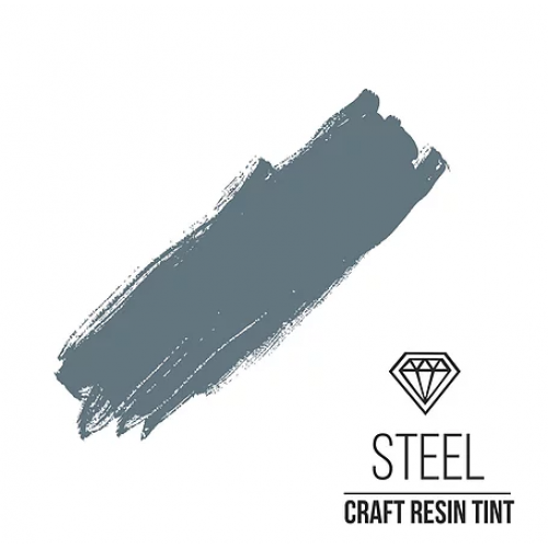 Краситель для смолы CraftResinTint-Стальной,10 мм