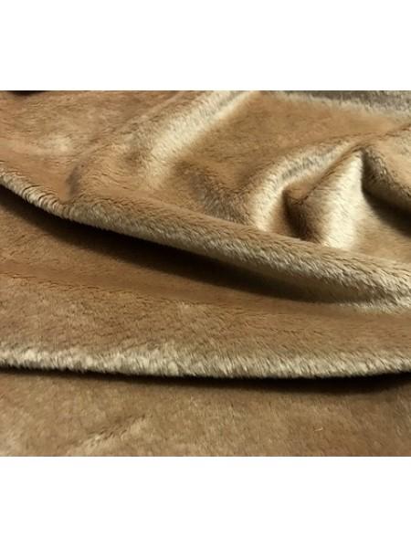 Мех коротковорсовый 3мм ,50см*50см (+/-1,0см) , цв.  песочный
