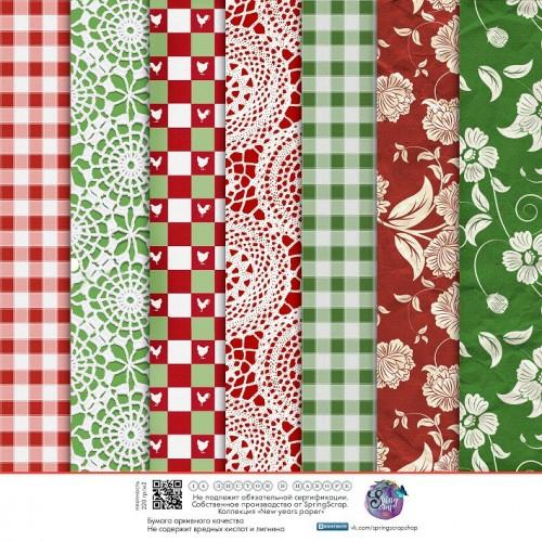 Набор новогодней бумаги 29,5*30 см. 14 листов,ВКН-6Б