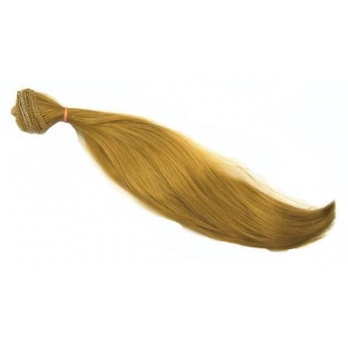 Трессы-прямые (волосы для кукол),25см