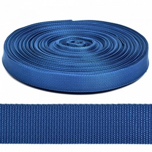 Стропа-ременная лента, 30 мм,цв-синий.цена за 1 м