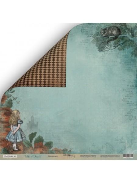 Лист двусторонней бумаги 30x30 от Scrapmir Незнакомец из коллекции Time to Dream