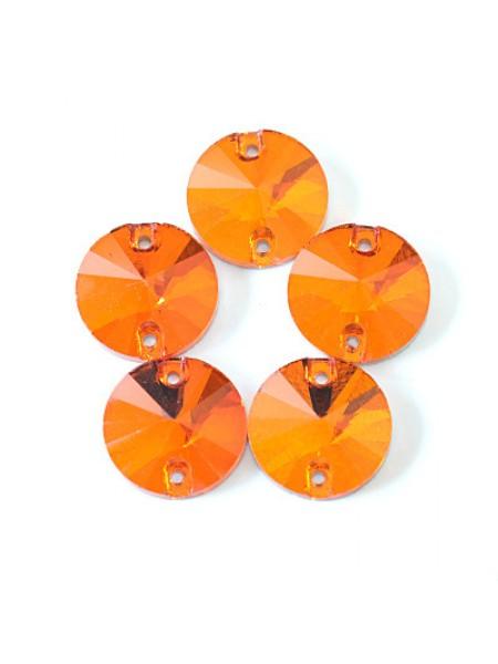 Стразы пришивные ,цв-№8,размер 8мм,цена за 1 шт