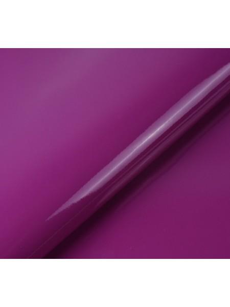 Искусственный лакированный кожзам, цв-лиловый,  32*46 см