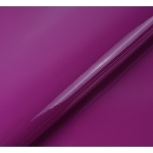 Искусственный лакированный кожзам, цв-лиловый, 23*32 см