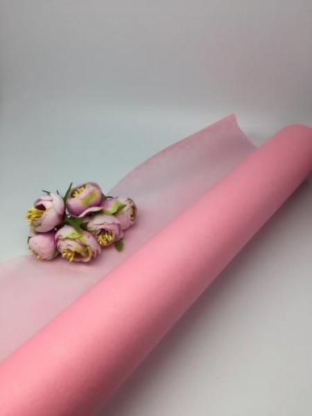 Фетр  флористический-светло-розовый, цена за 1 метр