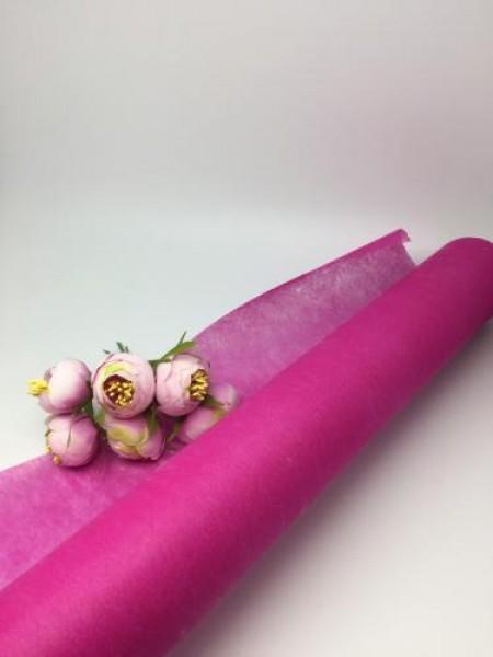 Фетр  флористический;тёмно-розовый, цена за 1 метр