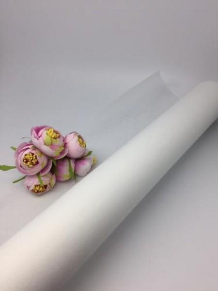 Фетр  флористический белый, цена за 1 метр