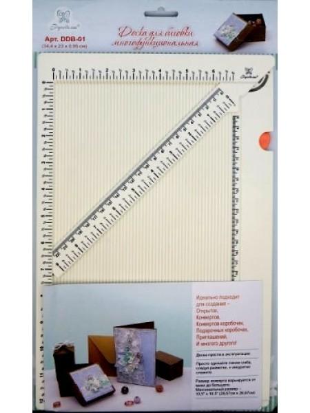Доска для биговки многофункциональная 34,4*24*0,95см (Рукоделие)