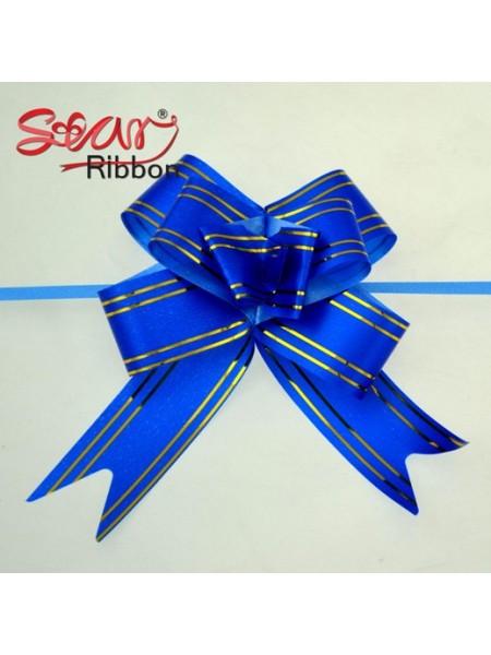 Бантик подарочный ,цв-синий ,13*16 см