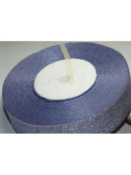 Металлизированная тесьма,цв-светло-фиолетовый,2см,цена за 1 метр