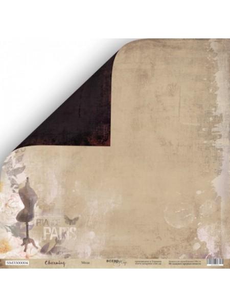 Лист двусторонней бумаги 30x30 от Scrapmir Мода из коллекции Charming (Очарование)