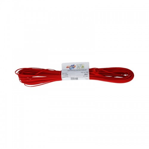 Шнур-Сутаж,красный,2.5мм Цена за 1 м