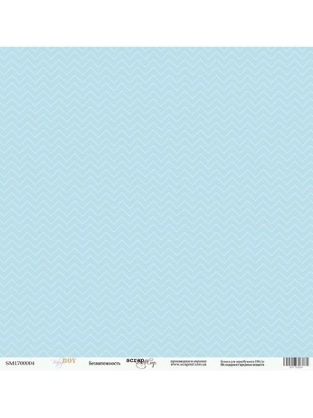 Лист односторонней бумаги 30x30 от Scrapmir Безмятежность из коллекции Baby Boy