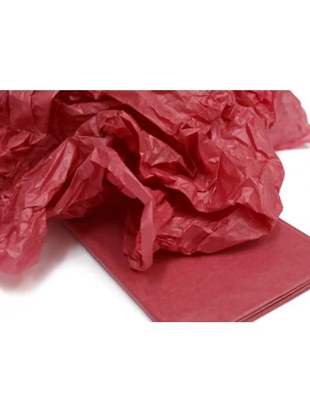 Папиросная бумага тишью,красная,цена за 10 листов