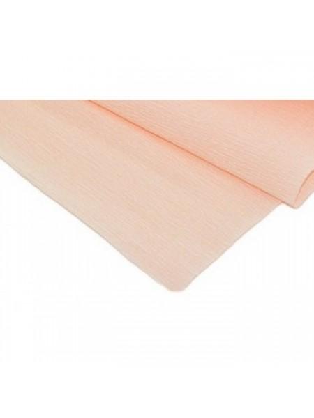 Бумага гофрированная-CARTOTECNICA ROSSI,  №17А-5,персик пастельный