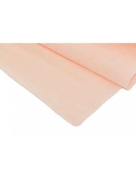 Бумага гофрированная-CARTOTECNICA ROSSI, цв персиковый №17А-5