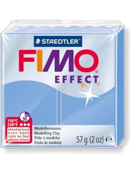 Полимерная глина FIMO effect,57гр,голубой агат