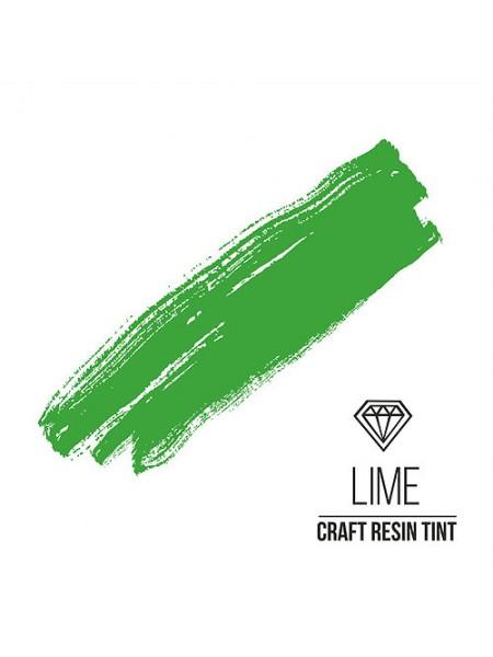Краситель для смолы CraftResinTint-Лайм,10 мм