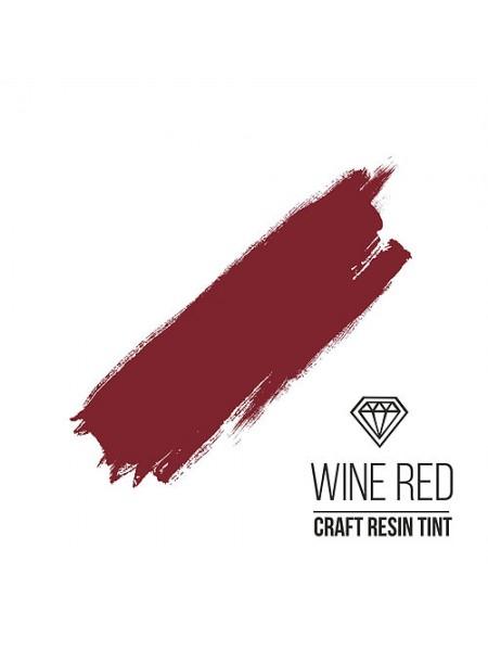 Краситель для смолы CraftResinTint-Винно-красный,10 мм