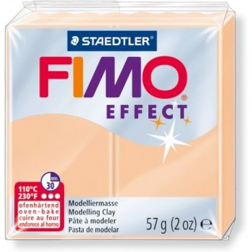Полимерная глина FIMO effect,57гр,пастель персиковая