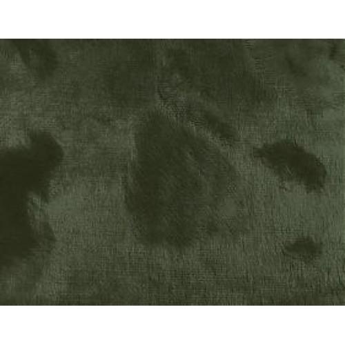 """Вискоза """"Элит"""" фактурная,ворс 6мм (основа х/б )цв-темно-зелёный, 45см*50см, Италия"""