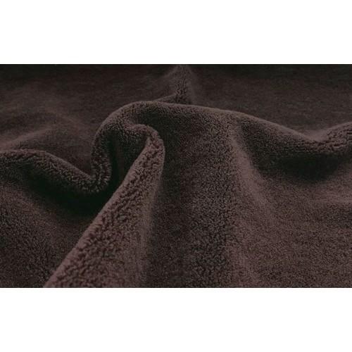 """Мех-плюш  """"Элит"""" ворс 5мм (20%х/б -80% акрил),плотный, 45см*50см, цв.коричневый, Италия"""