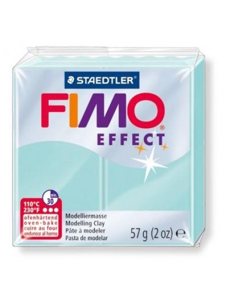 Полимерная глина FIMO effect,57гр,мята