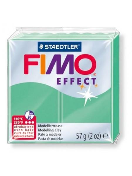 Полимерная глина FIMO effect,57гр,зеленый нефрит