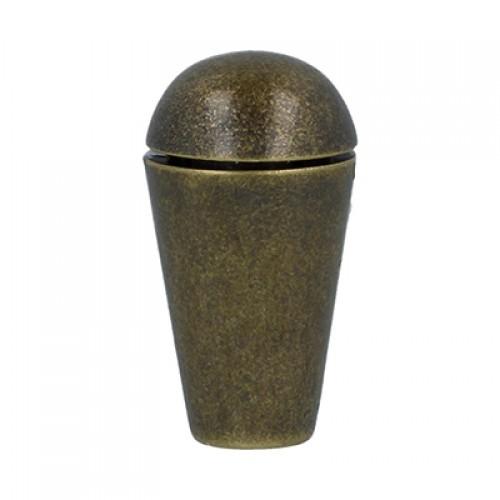 Концевик для шнура,13мм. цв-бронза