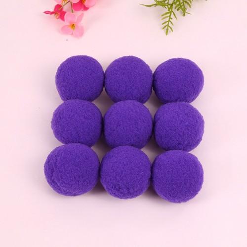 Помпон декоративный,2 см,светло-фиолетовый.цена за 1 шт