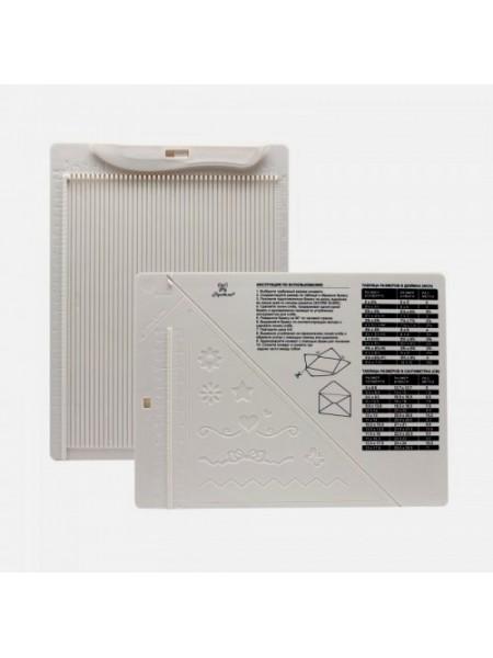 Доска для создания конвертов и открыток 21,5*16,2*0,7см (Рукоделие)