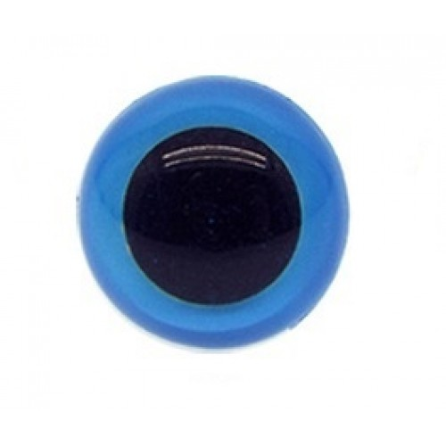 Глазки безопасные,,цв-синий,16 мм,цена за пару